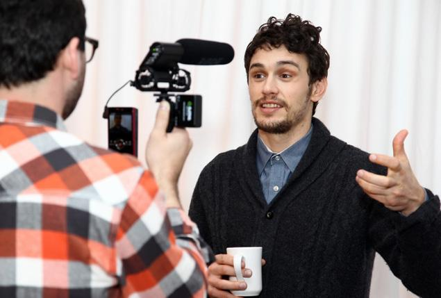 James Franco continues to explore producing and directing film in addiction to his acting duties. source: nydailynews.com