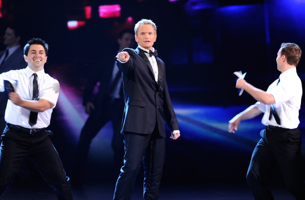 Neil Patrick Harris performing in a number during his Tony's hosting gig