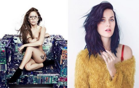 Lady Gaga and Katy Perry go head-to-head against one another to compete for the most successful singles off their next albums. Source: nme.com