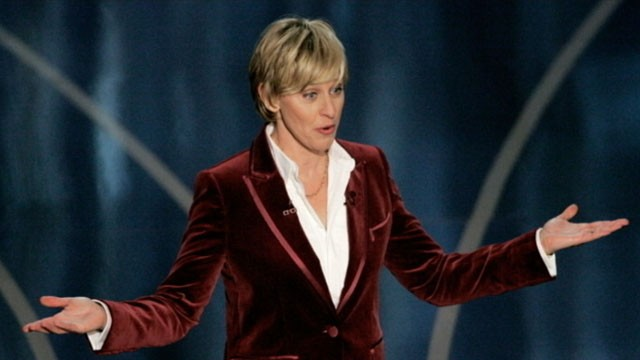 Ellen DeGeneres chosen to host the 86th annual Academy Awards for the second time. Image: abcnews.go.com