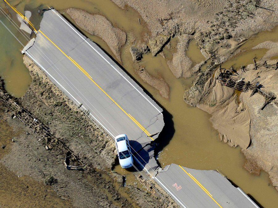 Heavy Rain Fall in Colorado Causes Devastating Floods