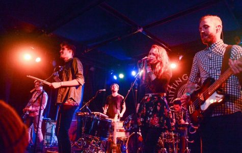 Band Royal Teeth performing at BMI showcase at The Knitting Room in NYC  Photo credit: BMI