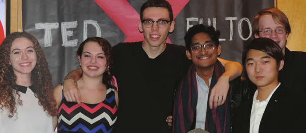 Students host University's first TED Talk
