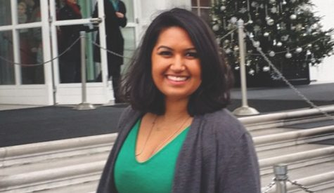 Student spends fall interning for White House