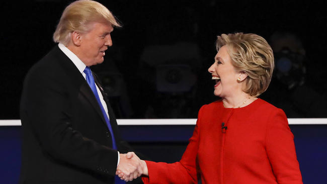 Hillary+Clinton+And+Donald+Trump+Make+Debut+At+First+Presidential+Debate