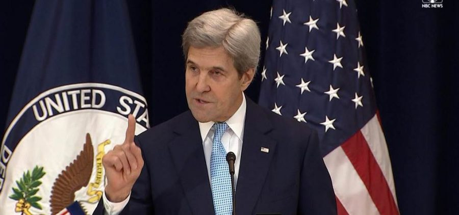 John Kerry responds to UN resolution on Israeli settlements
