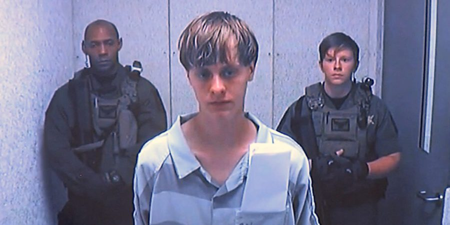 Dylann+Roof+appears+via+video+before+a+judge+in+Charleston%2C+S.C.%2C+on+Friday%2C+June+19%2C+2015.+The+21-year-old+accused+of+killing+nine+people+inside+a+black+church+in+Charleston+made+his+first+court+appearance%2C+with+the+relatives+of+all+the+victims+making+tearful+statements.+%28Centralized+Bond+Hearing+Court%2C+of+Charleston%2C+S.C.+via+AP%29