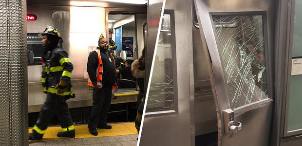 LIRR train derails in Brooklyn, injures 100