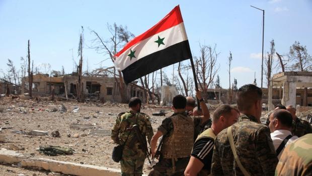 Syrian+President+Bashar+al-Assad+regains+control+over+Aleppo