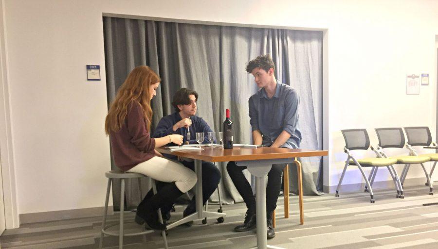 Student+cast+organizes+reading+of+an+original+play