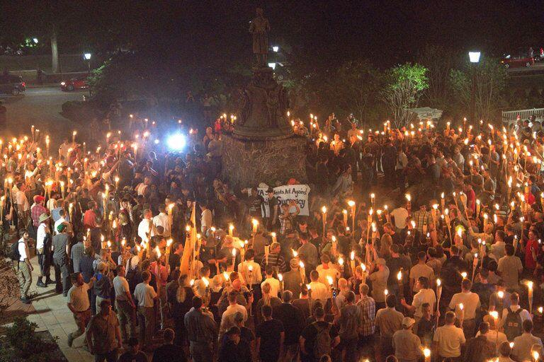 KKK at UVA: White Supremacy will not hide during Trump's administration