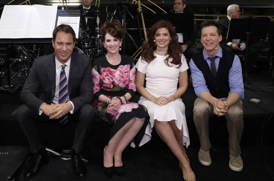 NBCUNIVERSAL+UPFRONT+EVENTS+--+2017+NBCUniversal+Upfront+in+New+York+City+on+Monday%2C+May+15%2C+2017+--+Pictured%3A+%28l-r%29+Eric+McCormack%2C+Megan+Mullally%2C+Debra+Messing%2C+Sean+Hayes%2C+%22Will+%26amp%3B+Grace%22+on+NBC+--+%28Photo+by%3A+Heidi+Gutman%2FNBCUniversal%2FNBCU+Photo+Bank+via+Getty+Images%29
