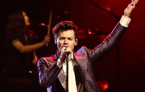 Harry Styles in concert. Photo via Scott Barbour/Getty Images for ARIA.