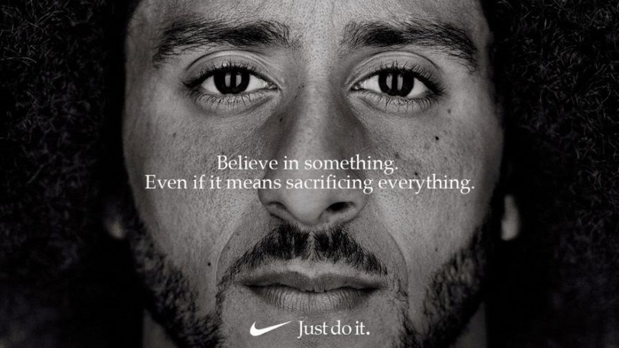 Kaepernick ad gives Nike a boost