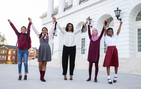 Michelle Obama launches Global Girls Alliance
