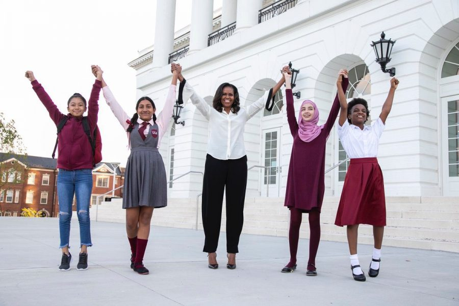 Michelle+Obama+launches+Global+Girls+Alliance
