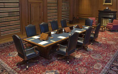 Supreme Court conference room.