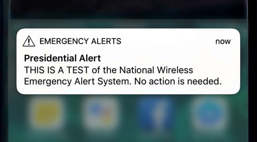 University+reacts+to+%27Presidential+Alert%27