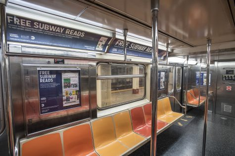 """The MTA promotes """"Free Subway Reads"""" for commuters"""
