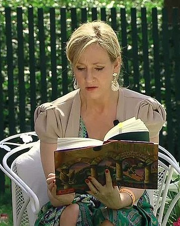 JK Rowling reading via Wikimedia Commons
