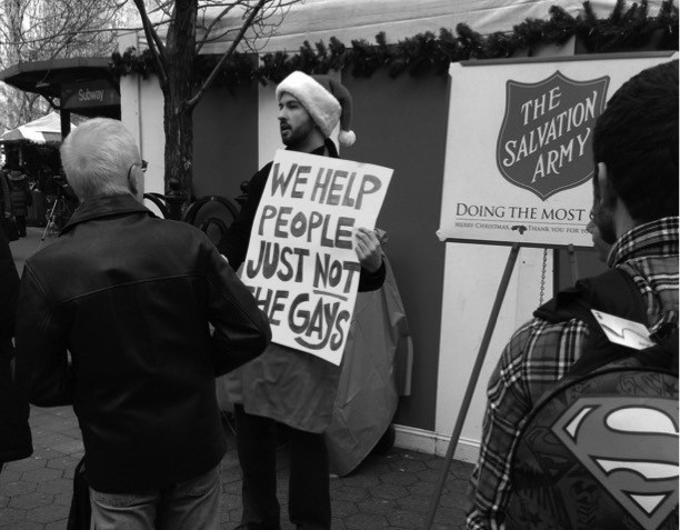 Salvation Army under fire for homophobic practices