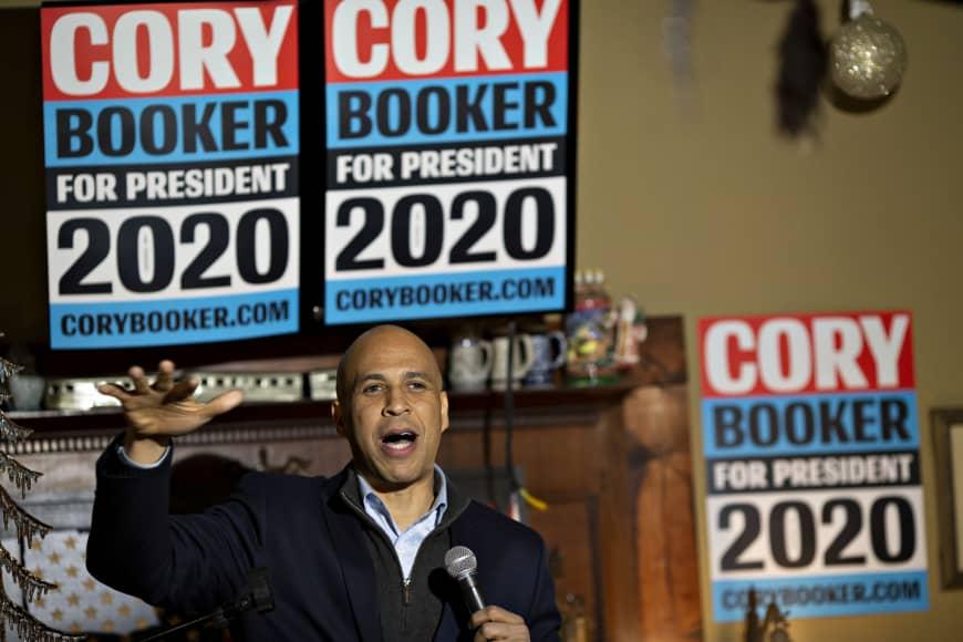 Cory+Booker+announces+2020+campaign
