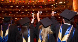 Graduating students await commencement details as the semester draws to a close