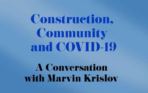 University President Marvin Krislov talks construction, community and COVID-19