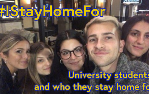 #IStayHomeFor hashtag sweeps social media in light of COVID-19